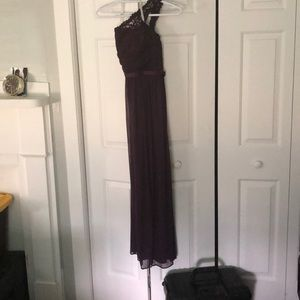 Plum David's Bridal Bridesmaid Dress size 8